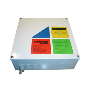 DICTATOR provides several approved possibilities to control fire protection door operators