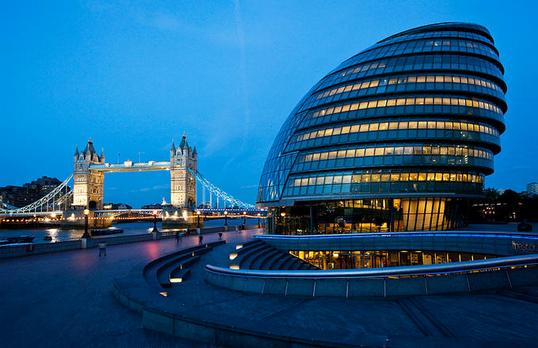 Gas Springs for Windows of London City Hall