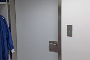 Interlock Control Door Hospital