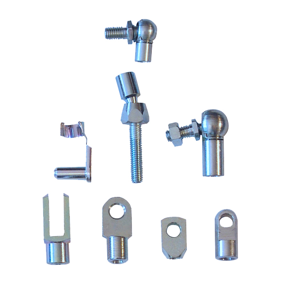 Gas springs end fittings and mounting brackets. The safe and correct fixing is vitally important for the perfect functioning and a long operational life